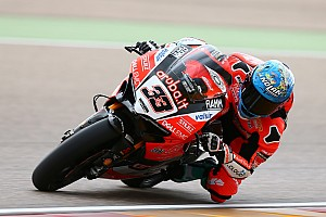 World Superbike Qualifying report WorldSBK Aragon: Melandri pole, ungguli duo Kawasaki