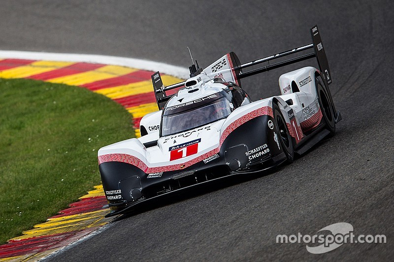 Modified Porsche LMP1 breaks Hamilton's Spa F1 record