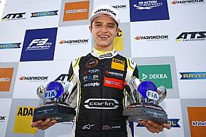 FIA F2 Noticias de última hora El junior de McLaren, Lando Norris, debutará en F2 en Abu Dhabi