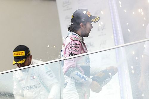 """Geen straf voor Perez: """"Dolblij met mijn derde plaats"""""""