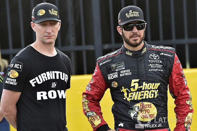 "Martin Truex Jr. not in 2017 form but ""I feel we're right there"""