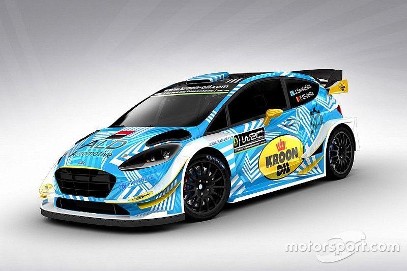Deux rallyes avec M-Sport pour Serderidis en 2018