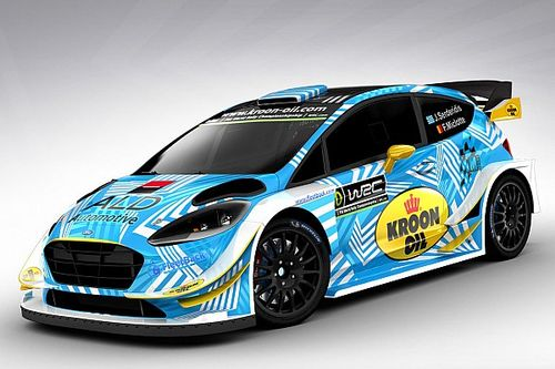 Serderidis pilota ufficiale M-Sport Ford in Germania e in Australia