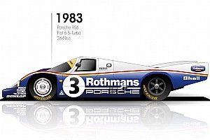 Как менялись машины «Ле-Мана»: 95 лет эволюции за 90 секунд