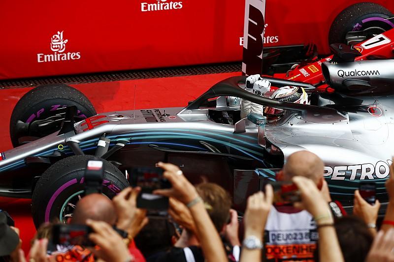Almanya GP: Vettel liderken kaza yaptı, Hamilton kazandı!