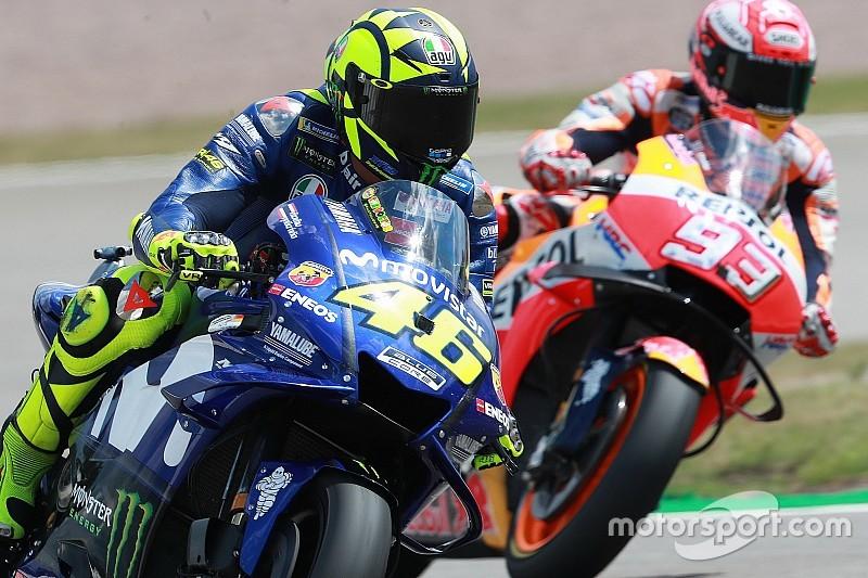 """Rossi: """"Para incordiar a Márquez hay que ir un poco más fuerte"""""""