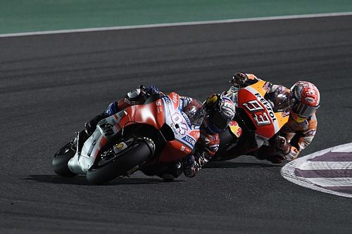"Dovizioso ""worried"" by Marquez's Qatar performance"