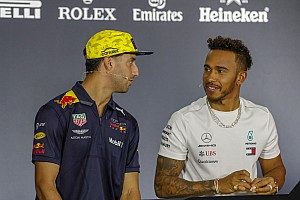 Hamilton alerta Ricciardo para não arruinar relação com time