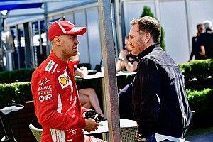 Horner: Man kann sehen, dass Vettel Druck mit sich herumträgt