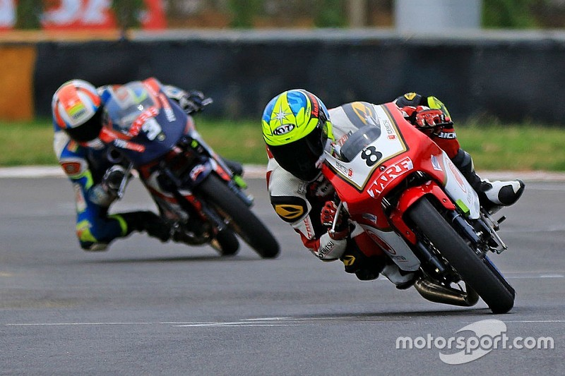 Chennai National Motorcycle: Sethu takes points lead with Race 2 win