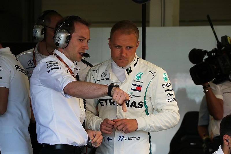 Боттас назвал свой уровень соответствующим Mercedes