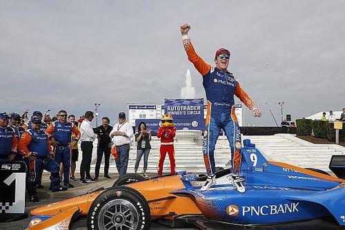 Диксон одержал первую победу в сезоне IndyCar