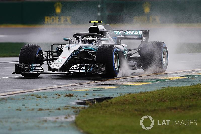 Bottas señaló que la humedad causó su accidente en Australia
