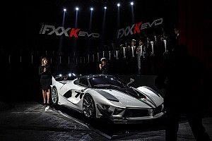Ferrari FXX K Evo diperkenalkan di Ferrari Mondiali