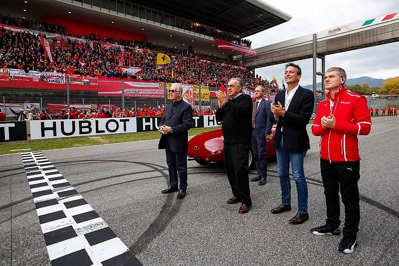 GALERÍA: Sergio Marchionne y algunos momentos con Ferrari