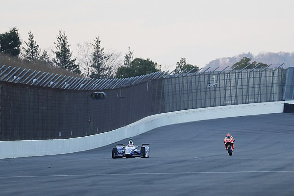 Honda reúne a sus pilotos en Motegi para su tradicional 'thanks day'