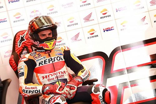 Marquez gets three-place penalty for blocking Vinales