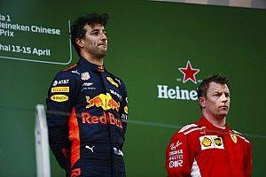Ricciardo nombrado piloto del día en China