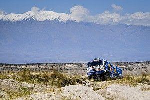 Villagra pelea a un segundo el liderato de los camiones