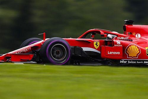 Vettel aan kop in laatste training Oostenrijk, technisch probleem bij Verstappen