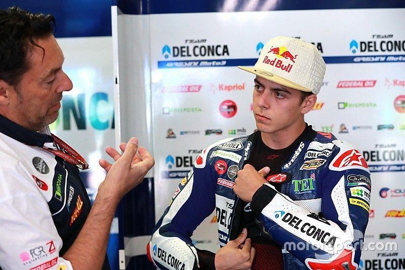 """Di Giannantonio: """"In settimana ho lavorato per dimagrire e soffrire meno al Sachsenring"""""""