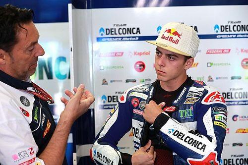 Di Giannantonio é hospitalizado após forte acidente em Motegi