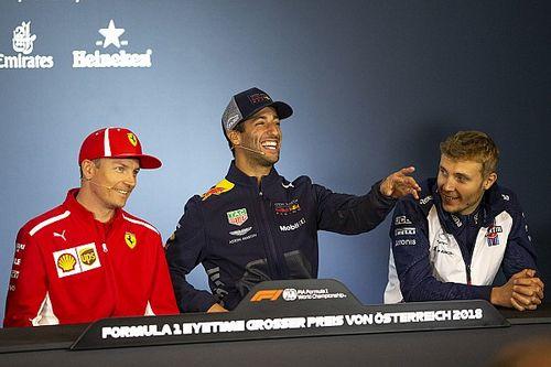 Austrian GP: Top photos from Thursday