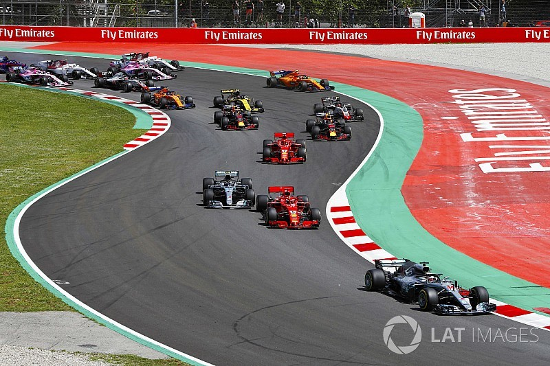 """La F1 envisage des """"courses plus courtes"""" à l'avenir"""