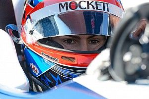 Herta satisfied with IndyCar test, despite accident
