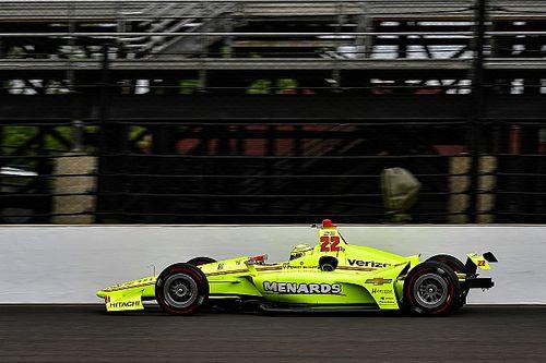 Indy 500: Simon Pagenaud am ersten Trainingstag Spitze