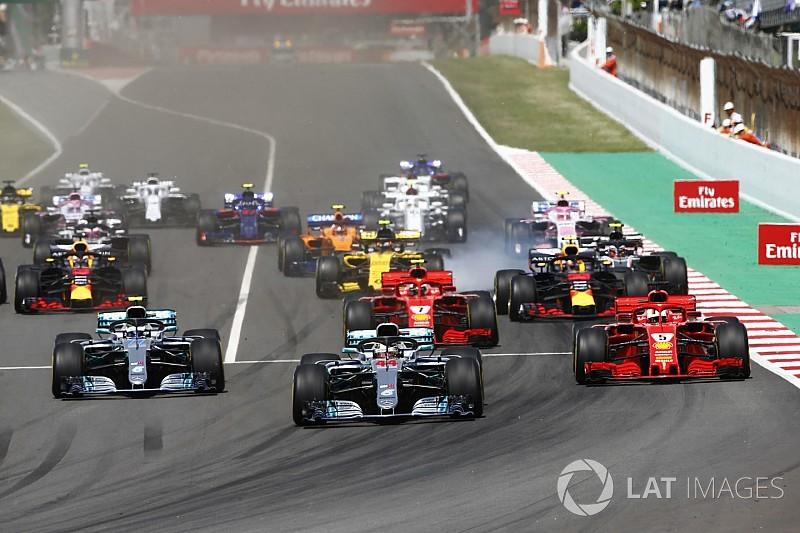 Hamilton domináns győzelmet szerzett Spanyolországban, Räikkönen kiesett