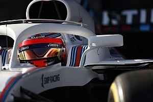 Williams: ecco il video di Kubica alla guida della FW41 ad Aragon