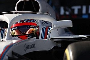 Video: Williams FW41's track debut from Kubica's POV