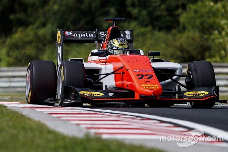 Boccolacci se llevó la carrera sprint de la GP3 en Hungría