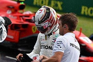 Képekben Hamilton 77. F1-es rajtelsősége a Forma-1-ben