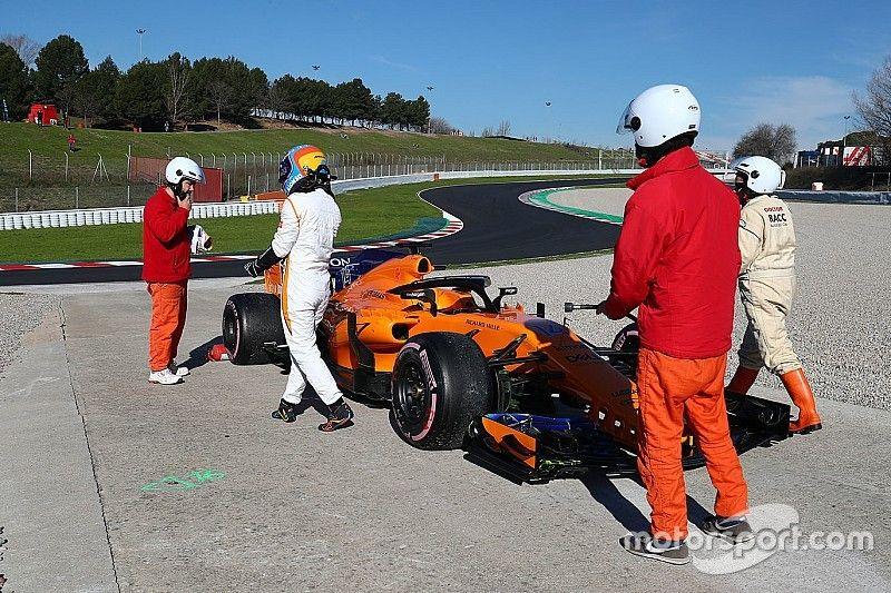 "McLaren ohne große Sorgen: ""Alles ganz normal"""