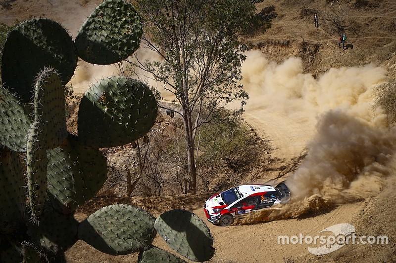 Galería: el primer día en el Rally México