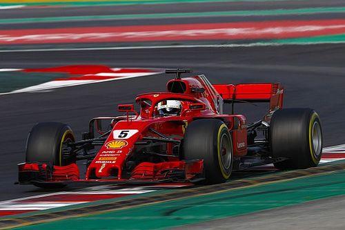 Barcelone, J7 - Un Vettel record avant les simulations de course