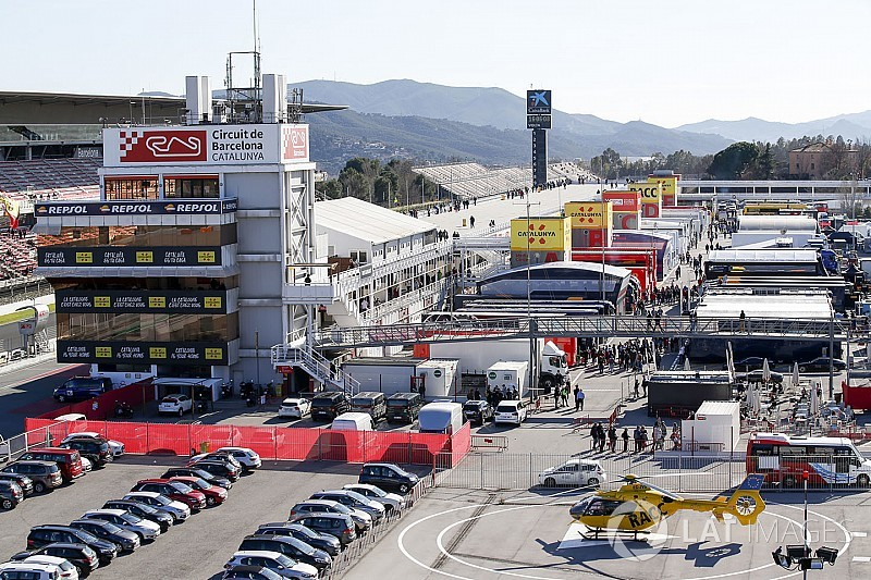 Formel-1-Wetter Barcelona: Kein Regen, aber Wind