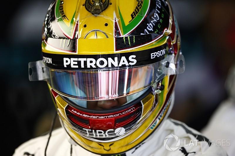 """Lewis Hamilton élu """"Pilote du Jour"""" du GP du Brésil 2017"""