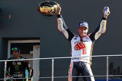 Marc Márquez, tetracampeón del mundo de MotoGP