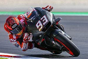 Marc Márquez quiere mejor entendimiento de su moto