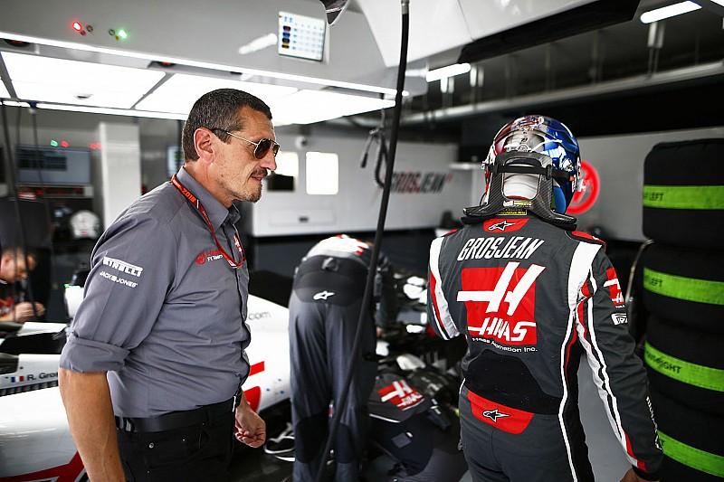 Haas, Grosjean'ın arkasında olmayı sürdürüyor
