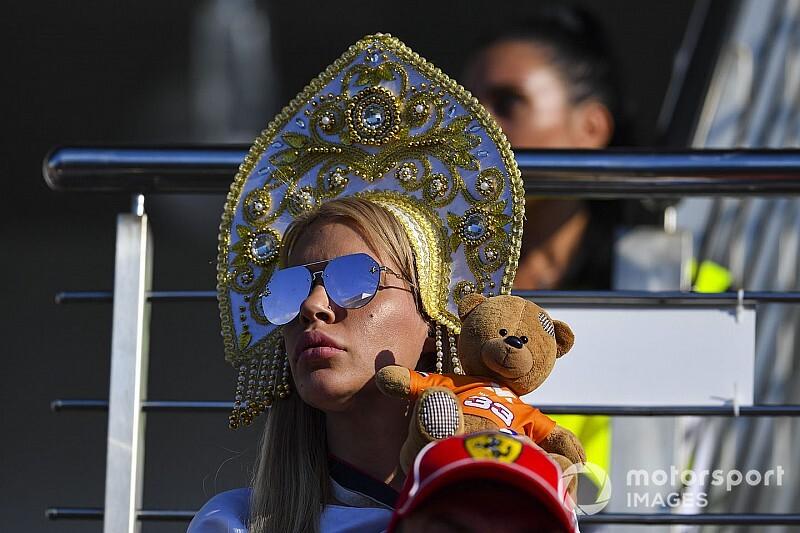 Лучшие фотографии Гран При России: суббота