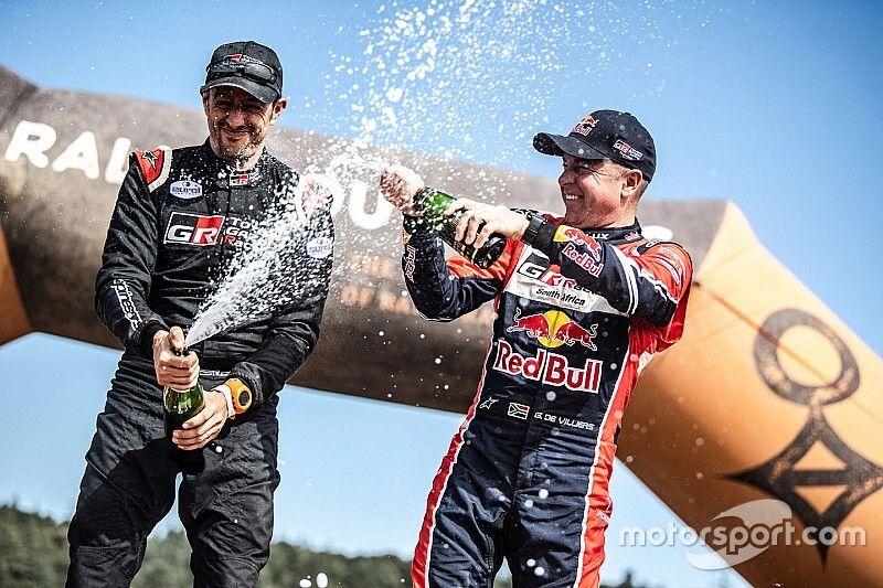Morocco Rally: De Villiers wins, Alonso 27th