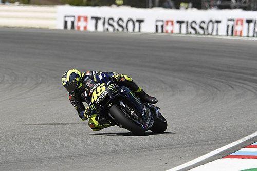 """Rossi: """"El lunes probaré un nuevo motor; hace un año fue un guardabarros"""""""