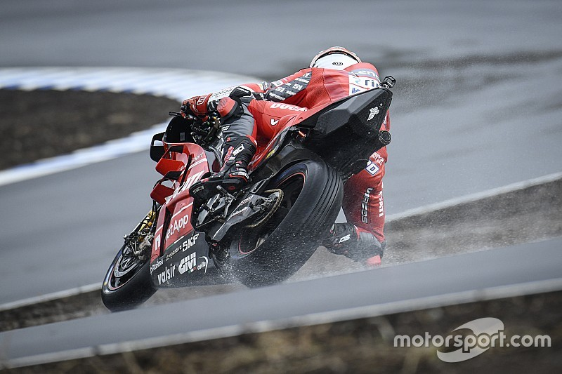 Debutto bagnato per la MotoGP al KymiRing