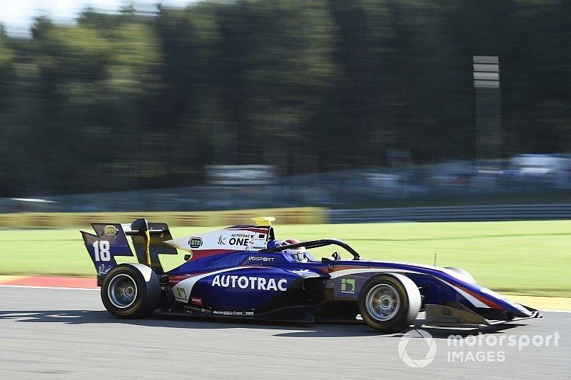 F3 Spa-Francorchamps: Piquet wint hoofdrace vanaf eerste startrij