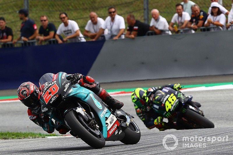 """Quartararo: """"Nadie puede decir cuándo se retirará Rossi"""""""