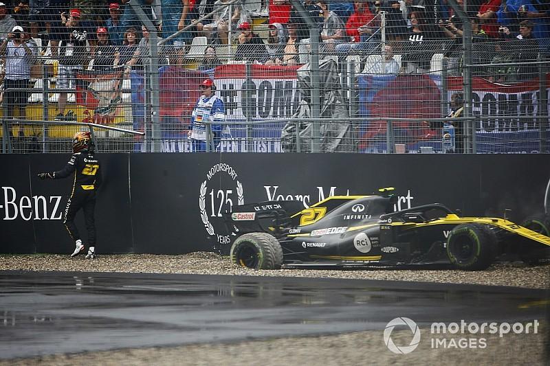 Видео: главные аварии Гран При Германии (кроме Боттаса)